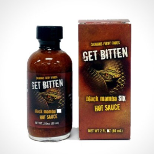 Get Bitten Black Mamba Six Hot Sauce