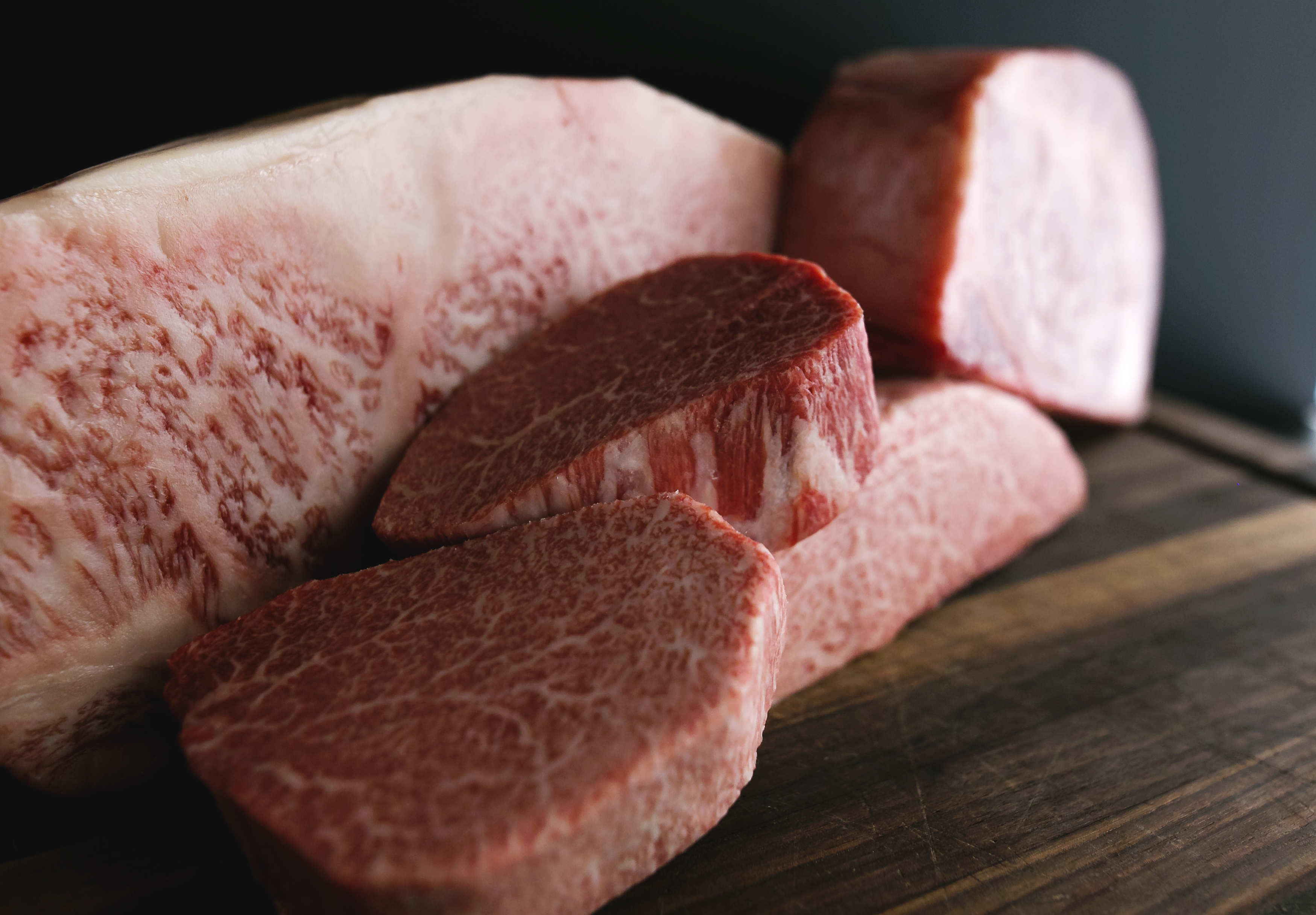 """35294a4aeb52 The """"A5"""" represents the highest level of Japanese Wagyu beef based on an  overall quality score ..."""